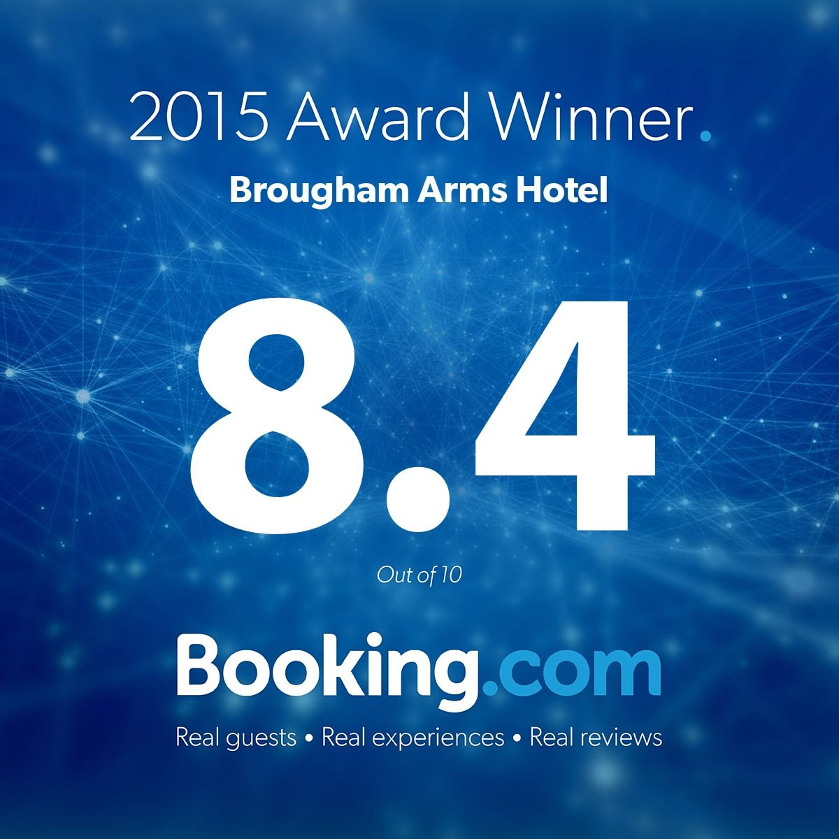 Thanks to all our @bookingcom guests for the great scores! #guestsloveus